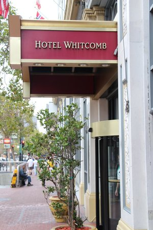 Homeless In The Background Picture Of Hotel Whitcomb San