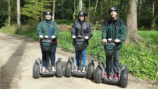 Lakeland Segway : Top marks to Wayne and Ann we will be back ☺