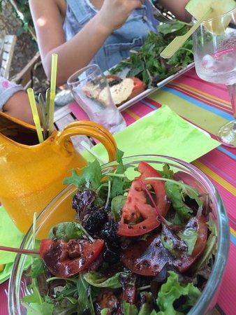 Fanneu: Sa sauce de salade  : une tuerie avec son coté sucré/salé