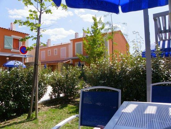 Résidence Odalys Le Mas des Flamants: vue de la terrasse