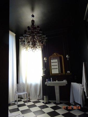 Hôtel particulier Poppa : Amazing bathroom