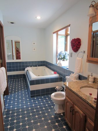 Dove Nest Bed and Breakfast: Royal Oak Jacuzzi tub