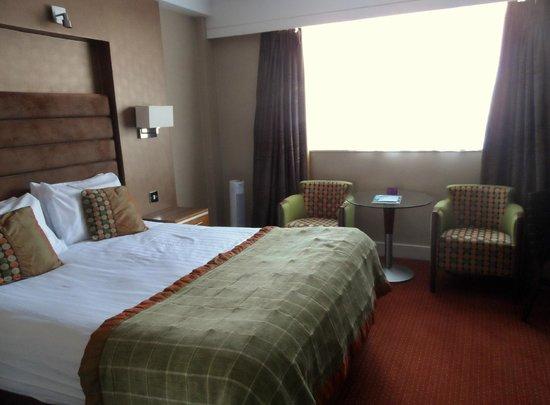 Hampshire Court Hotel - A QHotel: heerlijke kamer met een breed bed