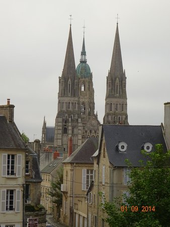 Hôtel particulier Poppa : View of the Cathedral from Room 1
