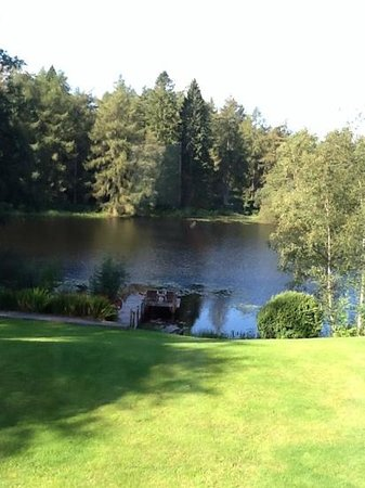 Gilpin Hotel & Lake House : the view from Harriet