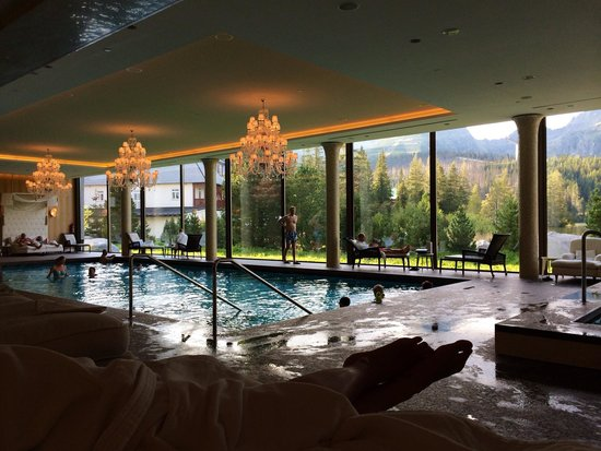 Grand Hotel Kempinski High Tatras: on of the best spa ive ever seen