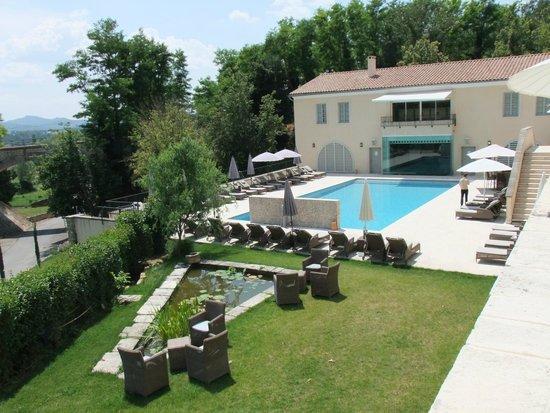 Le Couvent des Minimes Hotel et SPA L'Occitane : Terrasse du restaurant