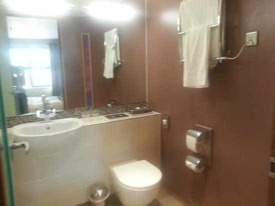 Lodge at Bristol: bathroom