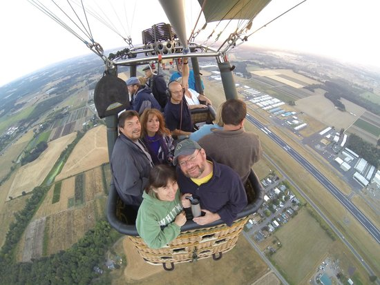 Portland Rose Hot Air Balloons: Up, Up and Away with Portland Rose Balloons