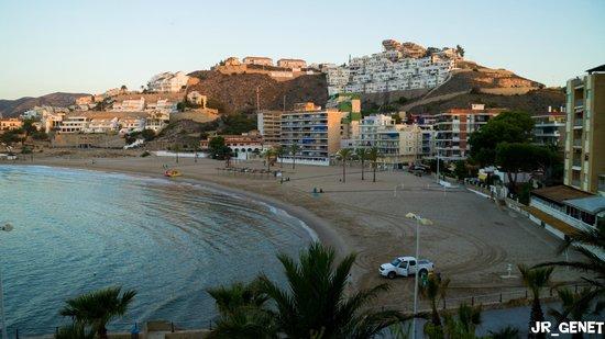 Chalet El Turin : Vista general de la playa donde se ubica el hotel