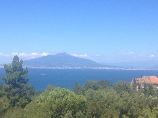 Tui Sensimar Atlantic Palace: View of mount Vesuvius from the roof terrace