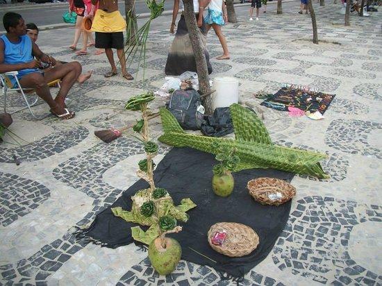 Ipanema Beach: Calçadão de Ipanema