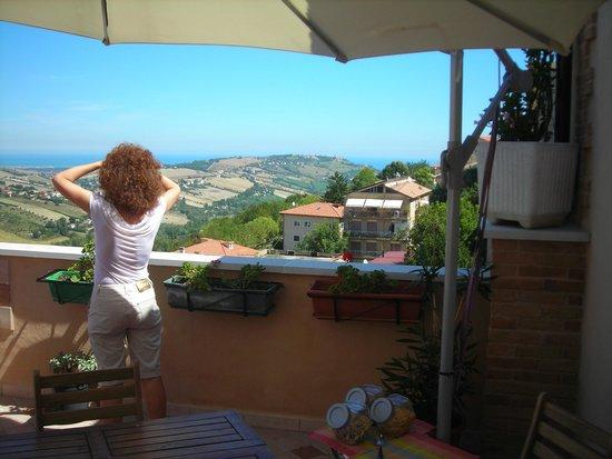 Vista - Picture of B&B Le Terrazze, Fermo - TripAdvisor