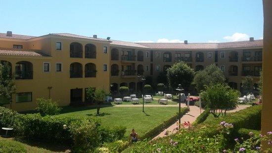 Geovillage Sport Wellness & Convention Resort : Vista dalla camera dove noi soggiornavamo.....