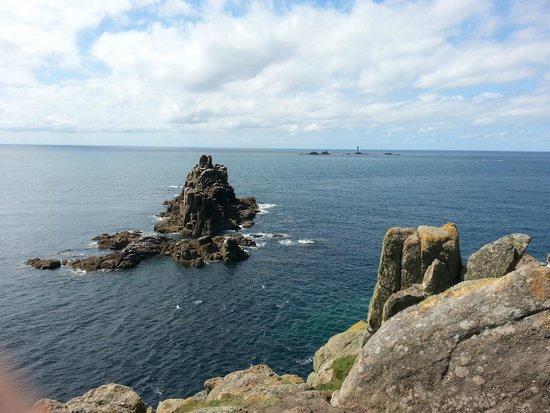Land's End Landmark : the sea, the sky, the sea, the sky....