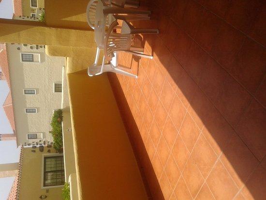 Hotel Isabel: terraza