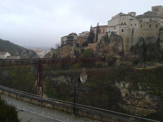 Parador de Cuenca: Vistas desde habitación 1.