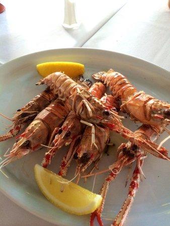 Restaurante Atlantico : 手ながエビ