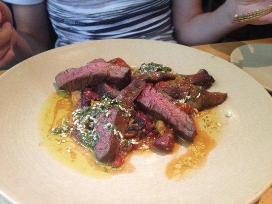 Talula's Garden: The steak.  Yum.