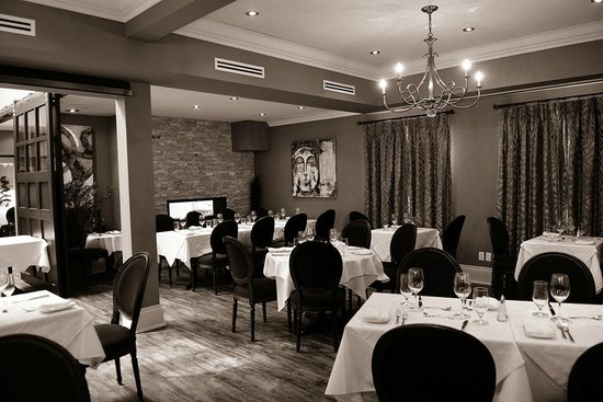 Another private dining room picture of culinaria for Best private dining rooms mississauga