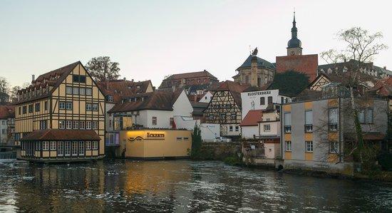 Bamberg, Tyskland: Klein Venedig im Herbst
