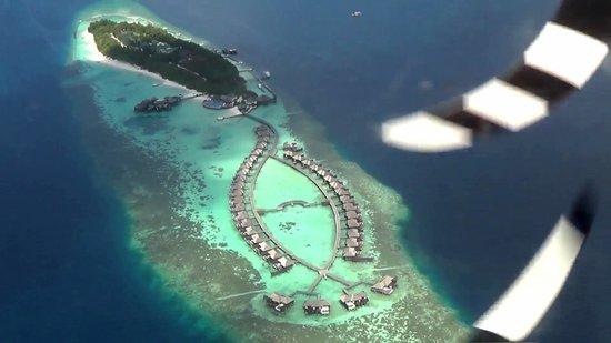Lily Beach Resort & Spa: Desde el hidroavión