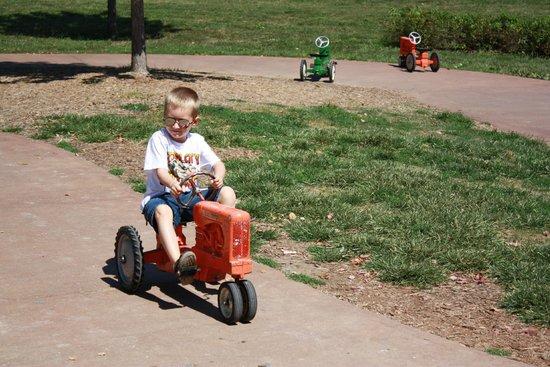 Deanna Rose Children's Farmstead: The Pedal Tractor Area