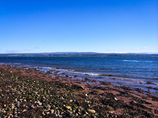 Chanonry Point : The beautiful view from the beach, taken on a lovely afternoon in Aug.