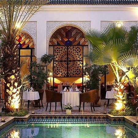 Le Riad Monceau : Our dining table!!!