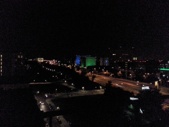 WestCord Fashion Hotel Amsterdam: Great view at night