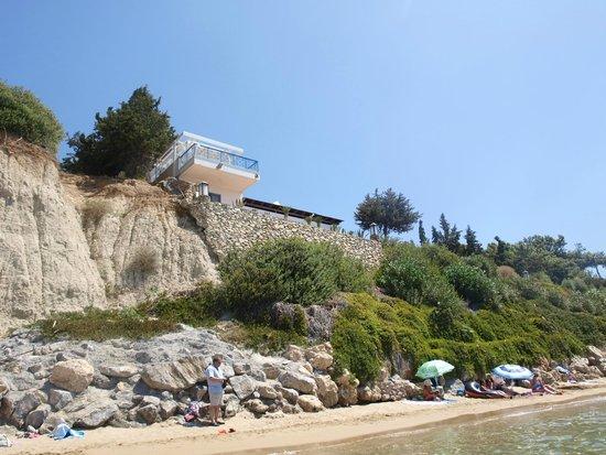 Hotel Pefkos Garden: plaża