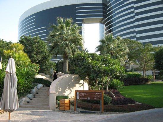 Grand Hyatt Dubai: View from the garden