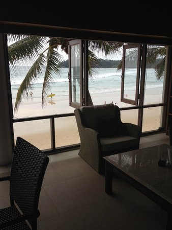 The Boathouse Phuket: view from the library retreat