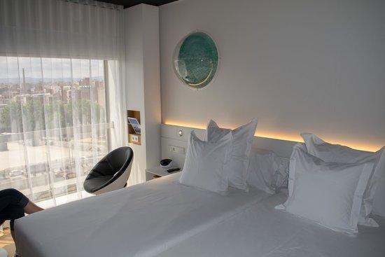 Barcelo Sants: La preciosa habitación!