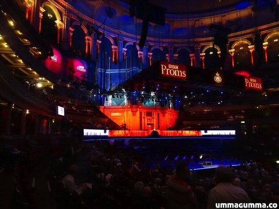 Royal Albert Hall: Stage.