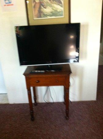 Yough Plaza Motel: TV