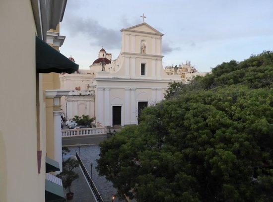 """Hotel El Convento: Vista desde la habitación """"estándar con vistas"""""""