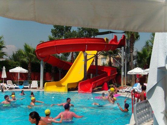 Club Side Coast Hotel: Rutsche am Activepool