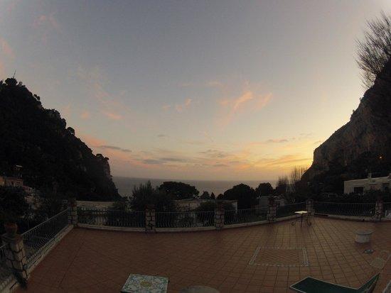 Hotel 4 Stagioni : sunset