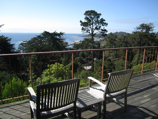 Hyatt Carmel Highlands: View from our deck - you could be sitting here!
