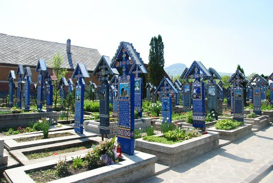 Merry Cemetery: Wesoły Cmentarz Sapanta
