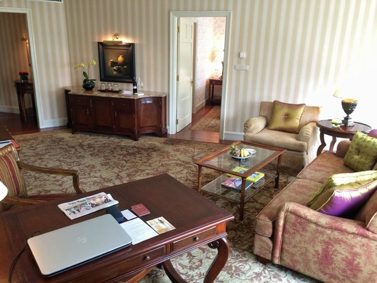 Park Hyatt Saigon: Living Room In Suite Part 54