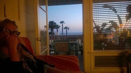 Seahorse Resort: Vista del living...
