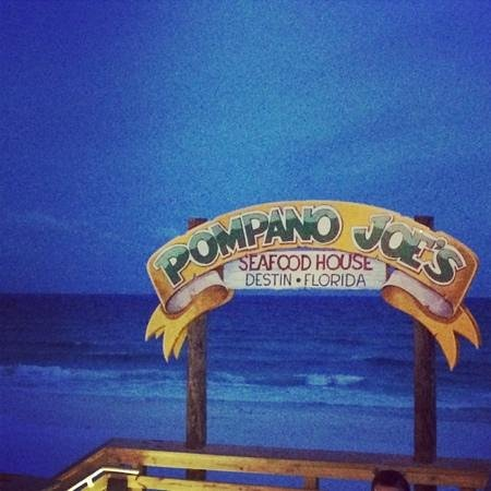 Pompano Joe's: great views :)