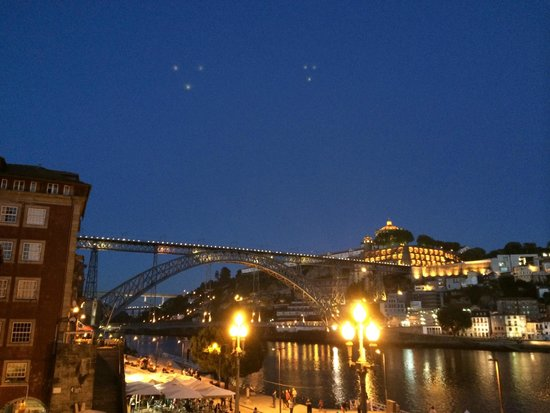 Pestana Vintage Porto: The stunning view from our room