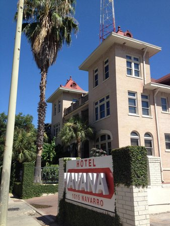 Hotel Havana: Beautiful restored hôtel in San Antonio