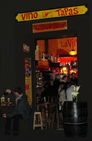 La Vina de Bacco: One night with my camera
