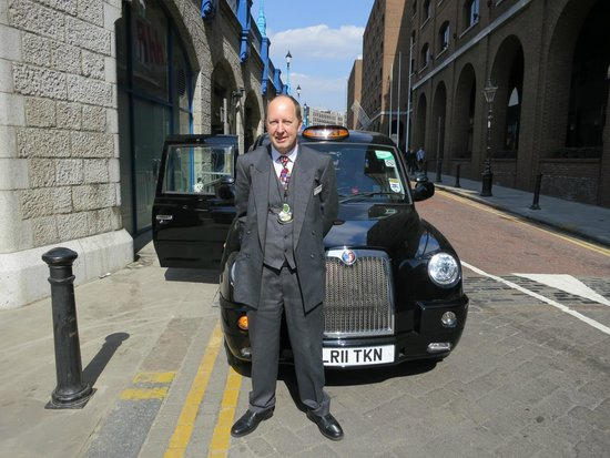 London Black Taxi Tours : Michael Churchill - owner