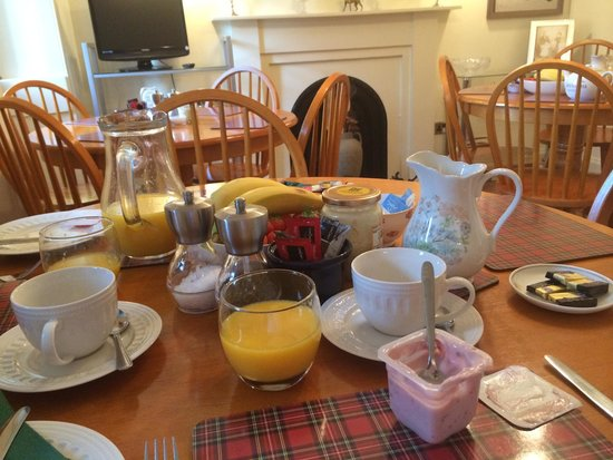Hay Lodge: Breakfast