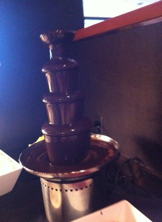 Fallsview Buffet: The Chocolate Fountain